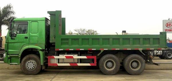 Xe tải howo 25 tấn sự lựa chọn tối ưu cho các công trình