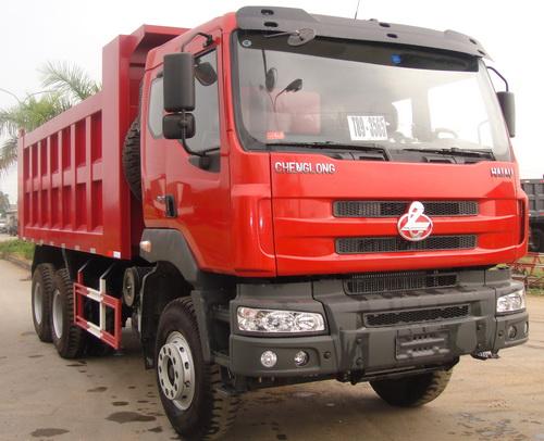 Bất ngờ với chất lượng của xe tải 3 chân Chenglong 1