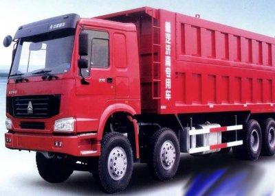 Chi tiết chất lượng của xe tải Howo 31 tấn 1