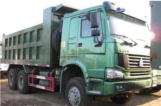 Chi tiết chất lượng của xe tải Howo 31 tấn