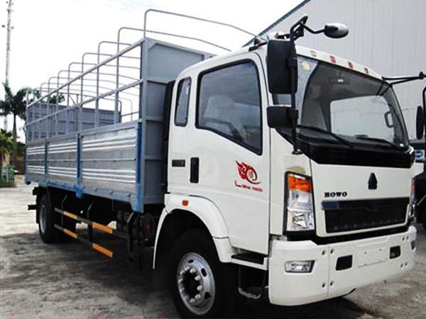Kết cấu hoàn hảo của xe tải Howo 15 tấn 1