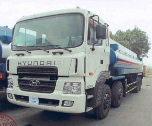 Mua xe chở xăng dầu Huyndai ở đâu?
