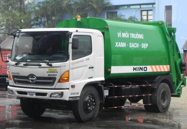 Mua xe cuốn ép rác Hino chất lượng ở đâu? 1