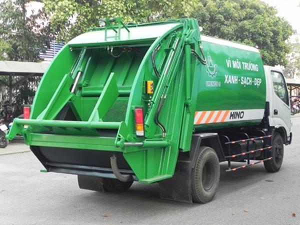 Mua xe cuốn ép rác Hino chất lượng ở đâu? 2