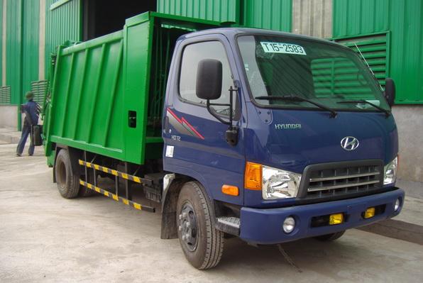 Những tính năng nổi bật của xe cuốn ép rác Hyundai