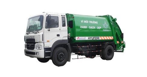 Sự cần thiết và ưu điểm nổi bật của xe cuốn ép rác Hyundai 2