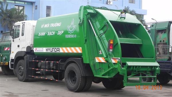 Sự cần thiết và ưu điểm nổi bật của xe cuốn ép rác Hyundai 1