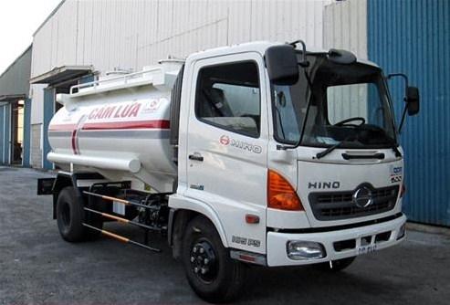 Sự phổ biến của xe chở xăng dầu Hino