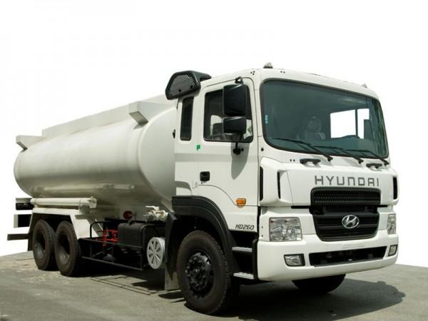 Sự phổ biến của xe chở xăng dầu Hino 1