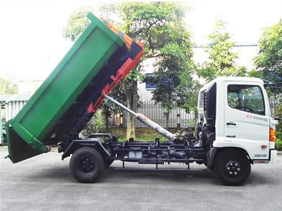 Ưu điểm nổi bật của xe chở rác thùng rời