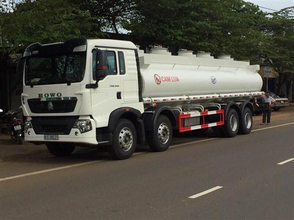 Ưu điểm nổi bật của xe chở xăng dầu Howo