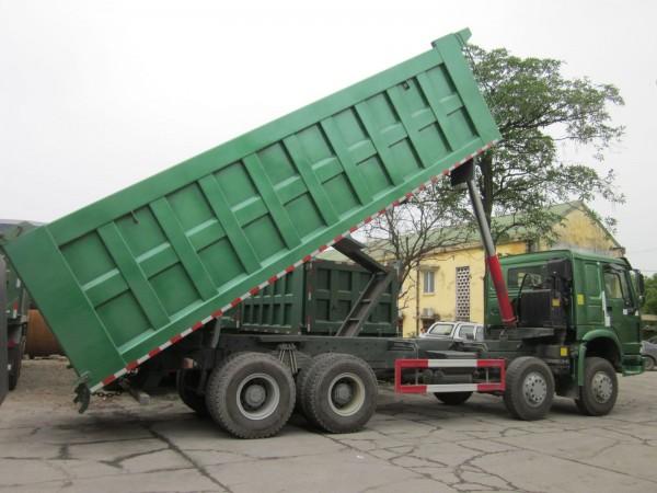 Xe tải tự đổ Howo dòng xe chuyên chở tiết kiệm nhiên liệu