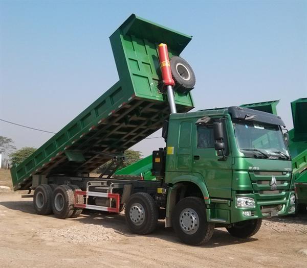 Xe tải tự đổ Howo dòng xe chuyên chở tiết kiệm nhiên liệu1