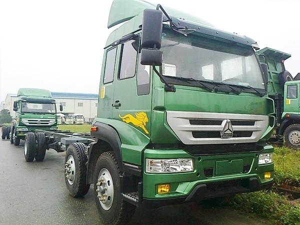 Xe tải howo 2 dí 1 cầu mang chất lượng tiên phong