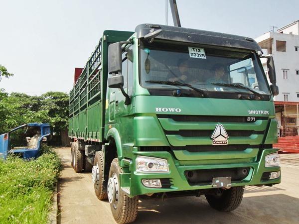 Xe tải thùng Howo chất lượng, giá rẻ 1