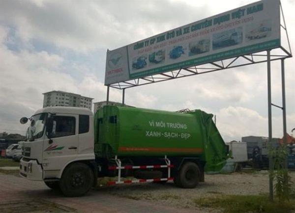 Xe cuốn ép rác Dongfeng 6 khối có ưu điểm gì?