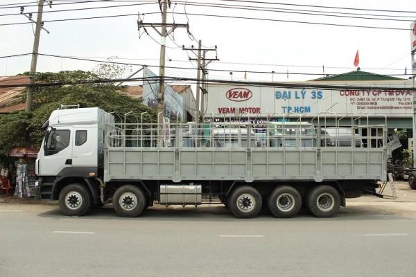 Xe tải Camc 5 chân – Bước ngoặt mới về công nghệ 2