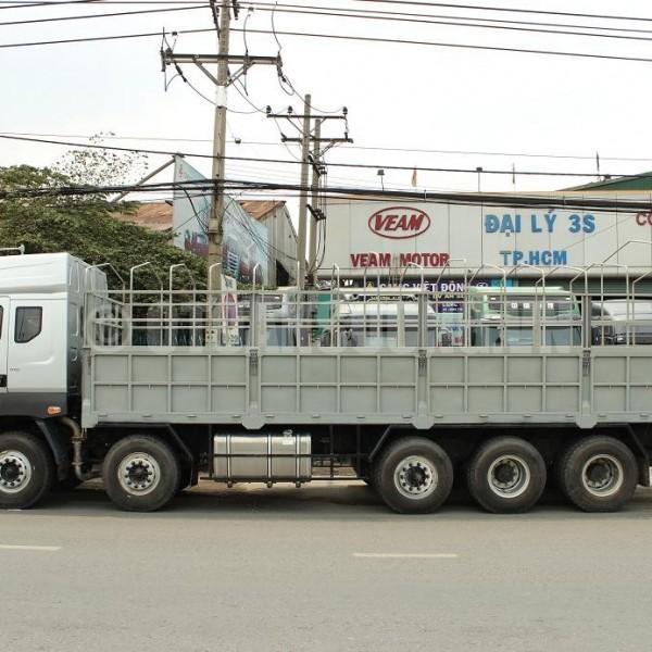 Xe tải Camc 5 chân – Bước ngoặt mới về công nghệ