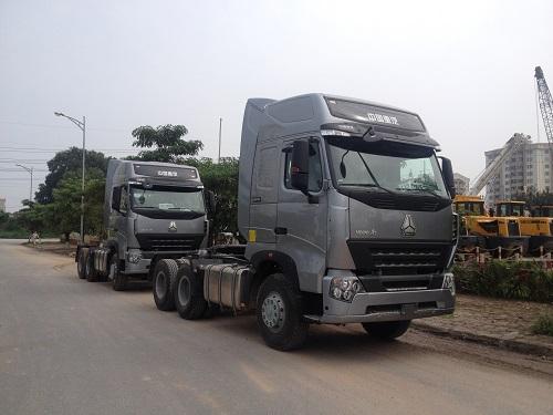 Xe tải Howo a7 gợi cảm với thiết kế tinh tế 1