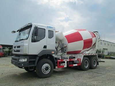 Xe trộn bê tông Chenglong 10m3 được đánh giá cao về chất lượng 2