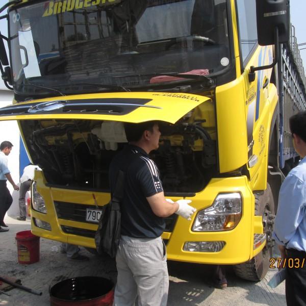 Vài điều lưu ý về bảo dưỡng phụ tùng xe tải howo
