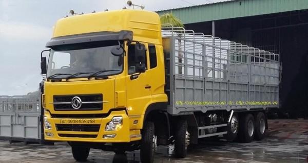 Xe tải Dongfeng 5 chân ổn định và tiết kiệm nhiên liệu