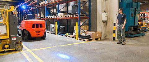 Xe nâng của bạn cần các loại đèn xe nâng nào?